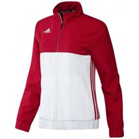 Adidas teamkleding - Sportkleding - kopen - Adidas T16 Team Jacket Women Red