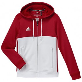 Adidas teamkleding - Sportkleding - kopen - Adidas T16 Hoody Jeugd Red