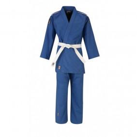 Blauwe Judopakken - Judopakken - Matsuru judopakken - Recreatie Judopakken - kopen - Matsuru judopak Club met schouderlabels blauw