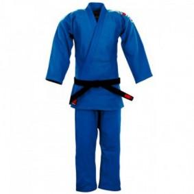 Blauwe Judopakken - Essimo judopakken - Judopakken - Semiwedstrijd- en wedstrijd judopakken - kopen - Essimo Judopak Ippon blauw