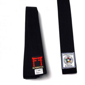 Bruine judobanden - Judo banden - Zwarte judobanden - kopen - Fighting Films IJF approved judo band zwart of bruin