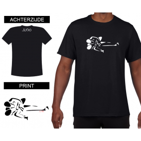 Vrijetijdskleding - kopen - T-shirt Gatame heren Black
