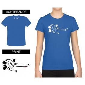 Vrijetijdskleding - kopen - T-shirt Gatame dames Bleu