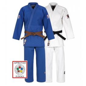 Blauwe Judopakken - IJF approved judopak - Judopakken - Matsuru judopakken - Semiwedstrijd- en wedstrijd judopakken - Witte Judopakken - kopen - Matsuru New IJF Champion Duopack met extra voordeel