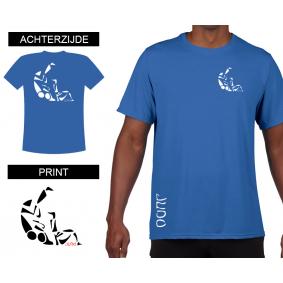 Vrijetijdskleding - kopen - T-shirt Sutemi heren Bleu
