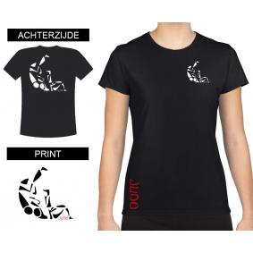 Vrijetijdskleding - kopen - T-shirt Sutemi dames Black