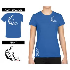 Vrijetijdskleding - kopen - T-shirt Sutemi dames Bleu