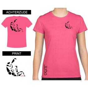 Vrijetijdskleding - kopen - T-shirt Sutemi dames Shocking Pink