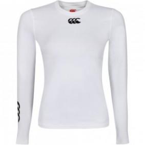 Functionele onderkleding - Sportkleding - kopen - Canterbury sport ondershirt wit dames lange mouw