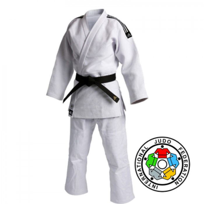 Adidas Champion II IJF 2015 Approved judopak wit