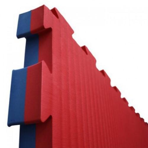 Judomatten - kopen - Puzzelmat Martial Arts rood/blauw | Prijzen op aanvraag