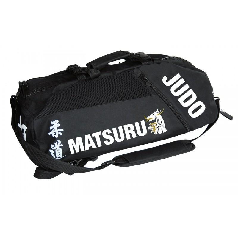 Matsuru judotas - judorugzak zwart polyester