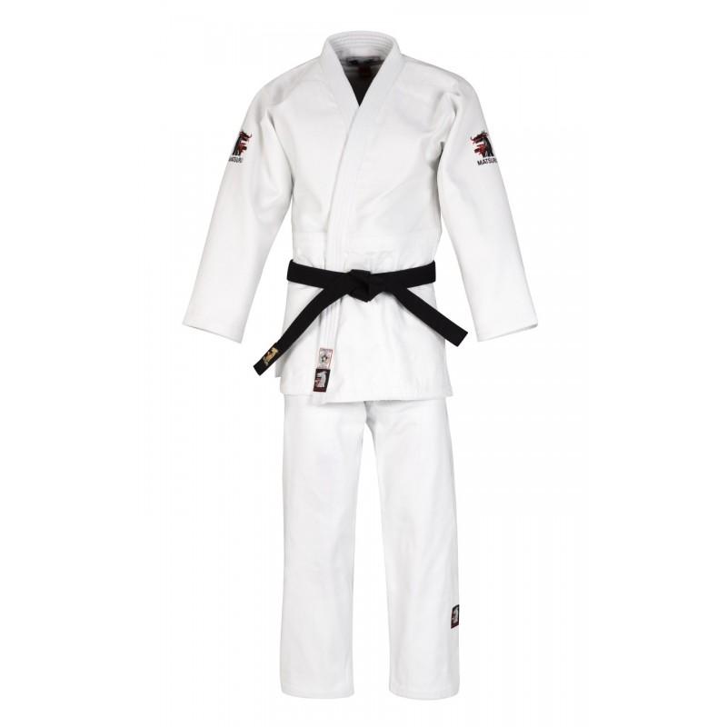 Judopakken - IJF approved judopak - Matsuru judopakken - Semiwedstrijd- en wedstrijd judopakken - Witte Judopakken - kopen - Matsuru New IJF Champion Wit