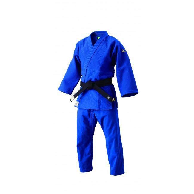 Mizuno judopakken - IJF approved judopak - kopen - Mizuno YUSHO IJF 2017 Gi blauw