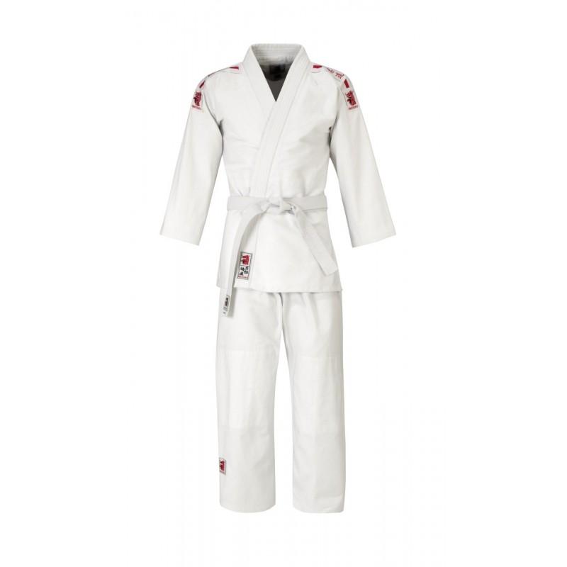 Matsuru Juvo recreatie judopak met roze schouderbadges