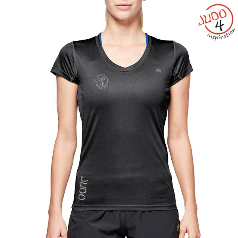 J4i Womens tech T black