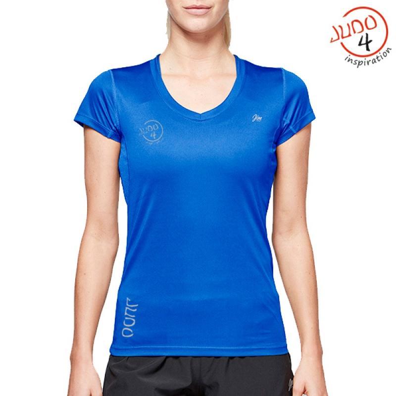 J4i Womens tech T Blue