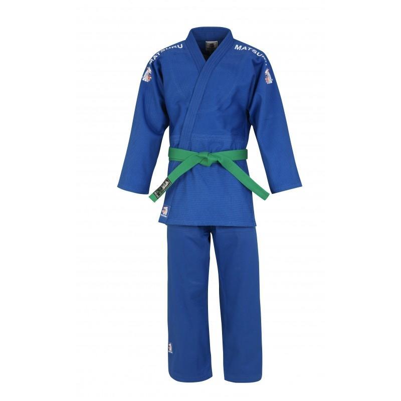 Matsuru judopak semi wedstrijd blauw