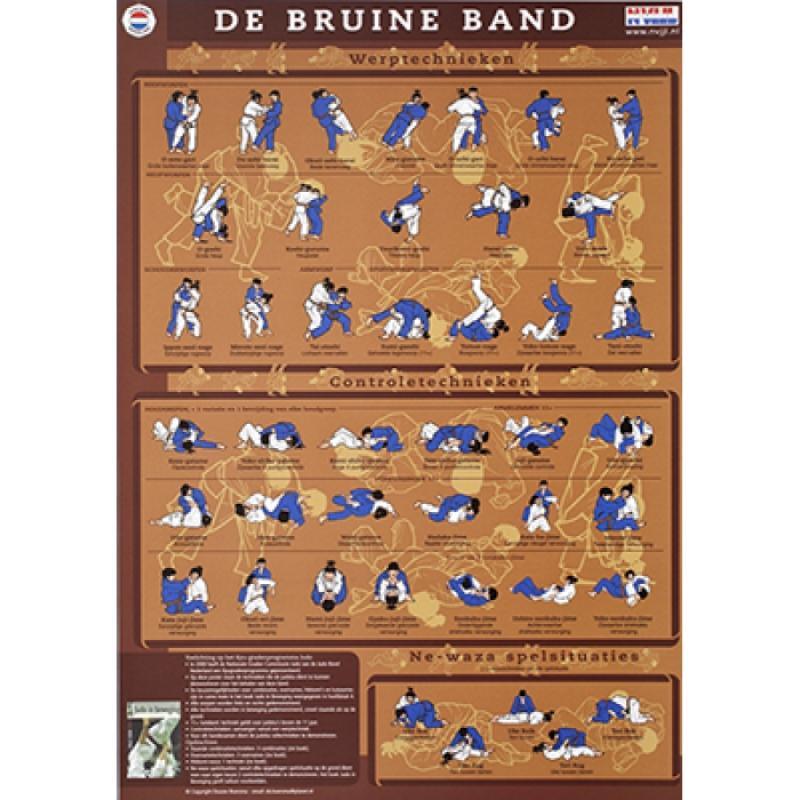 KYU kaart bruine band