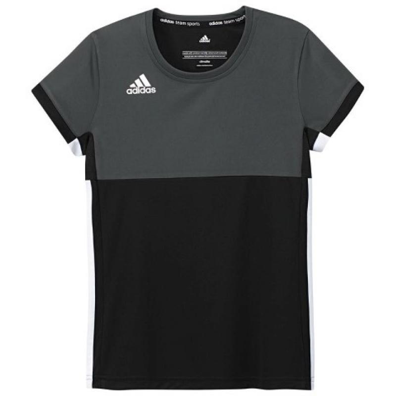 Adidas T16 Climacool Short Sleeve Tee Jeugd Meisjes Black