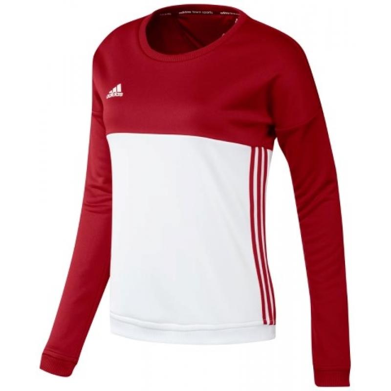Adidas T16 Crew Sweat Women Red