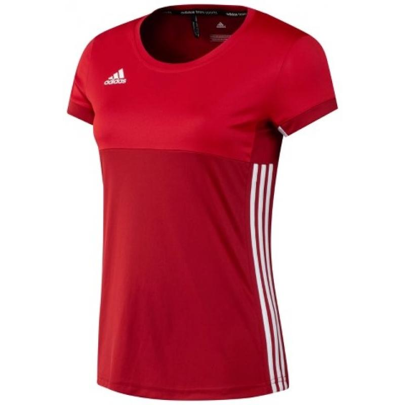 Adidas T16 Climacool Short Sleeve Tee Women Red