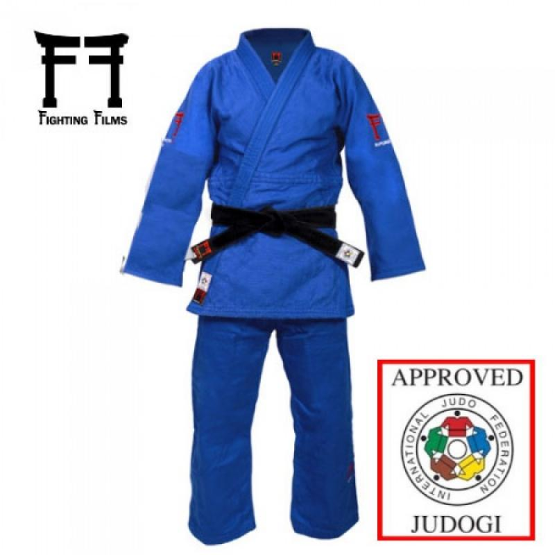 Fighting Films Superstar 750 IJF 2017 blauw Regular fit