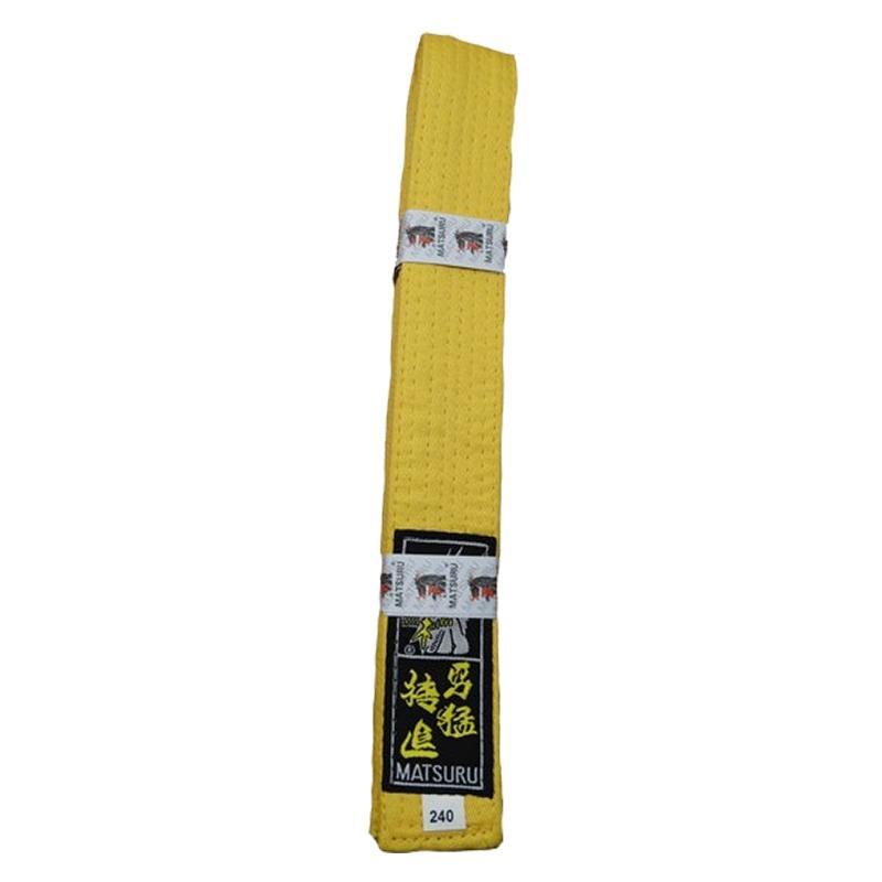 Matsuru judo band geel