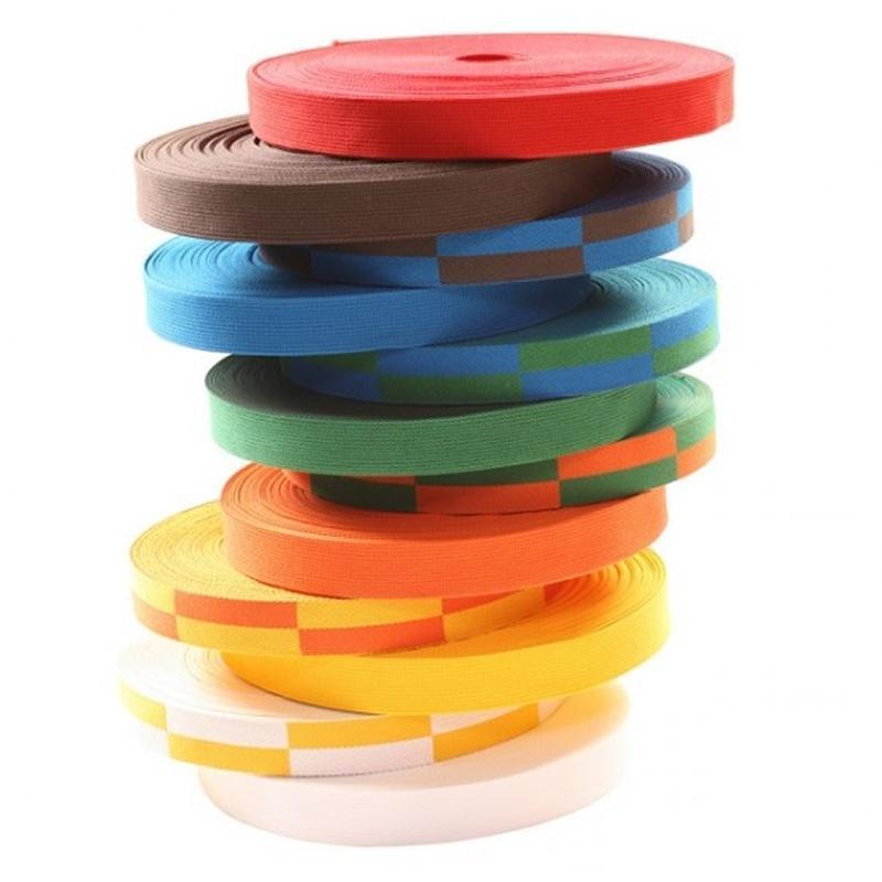 Essimo judo band op rol 50 meter diverse kleuren