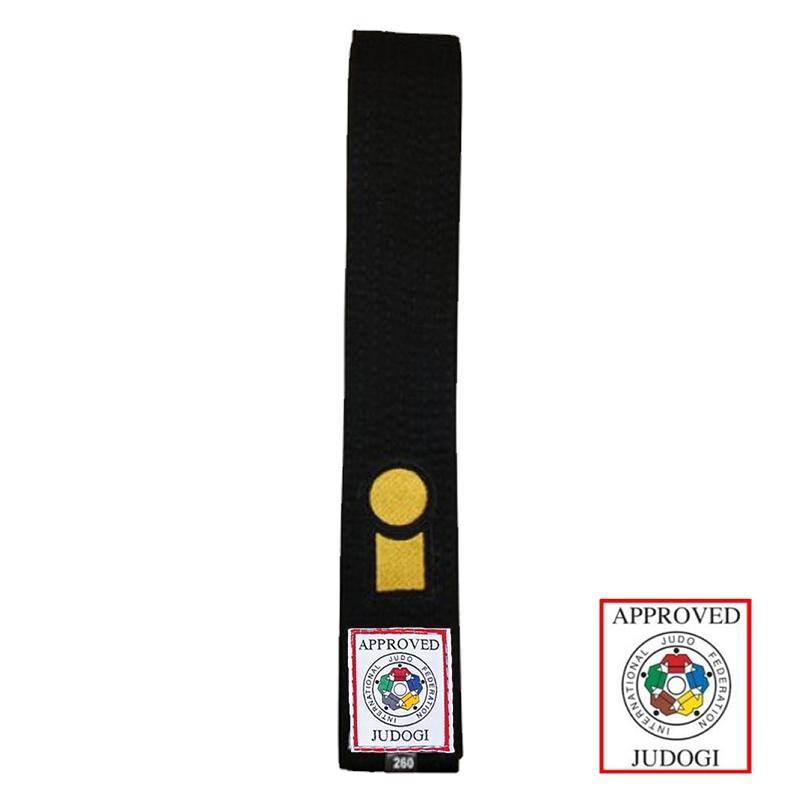 Essimo judo band zwart IJF approved