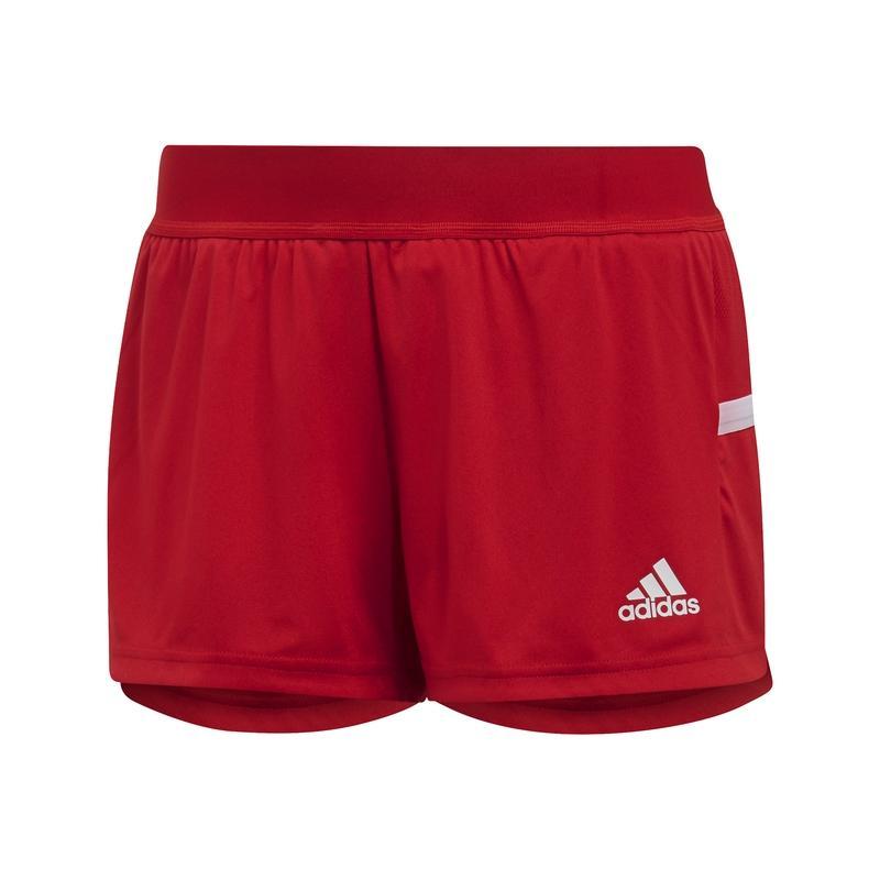 Adidas T19 Running Short Dames Rood