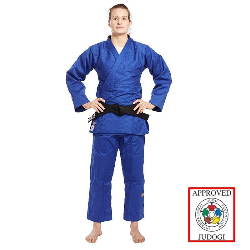 Ippon Gear Legend SlimFit Judopak IJF Blauw
