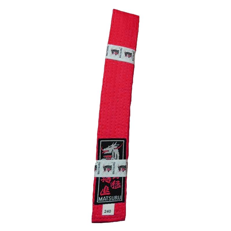 Matsuru judo band rood